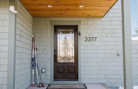 Fox Fire front door