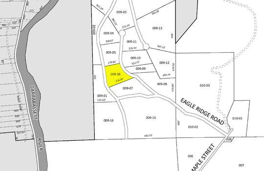 Eagle Ridge lot map 6