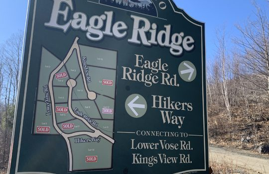 Eagle Ridge lot map