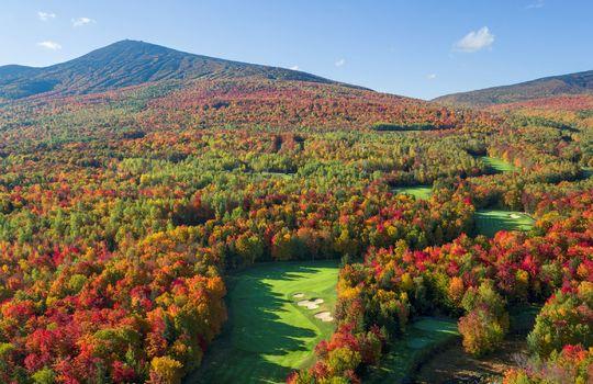 Fall Golf Drone