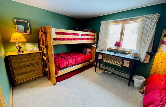 Snowflower 403 bunk room
