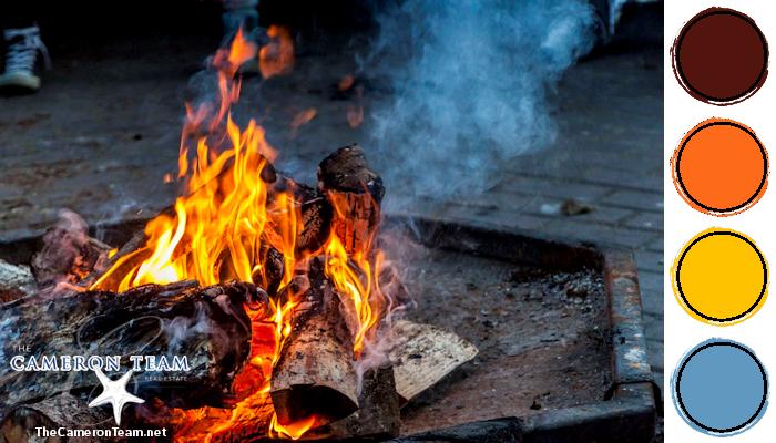 Bonfire Color Palette