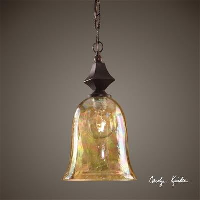 Elba Mini Iridescent Light Pendant - Uttermost