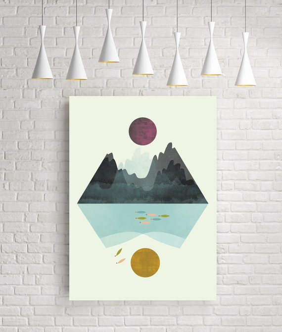 Geometric Landscape - FLATOWL