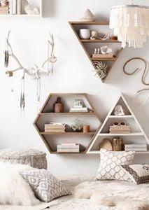 Geometric Shelves - RH Teen