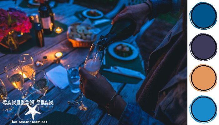 Party Dinners Under the Stars Color Palette