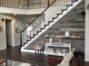 Wood Panel Staircase - Stikwood