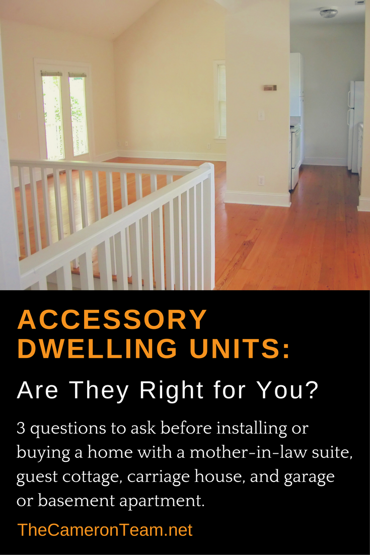 Accessory Dwelling Units - Are they right for you