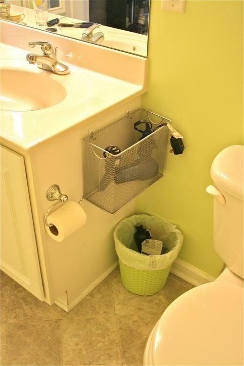 hair-dryer-basket-bathroom-organizer