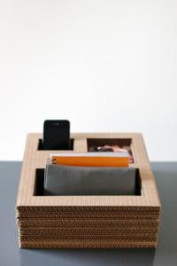 carboard-organizer