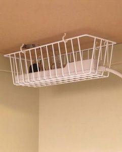 under-desk-electrical-strip-holder