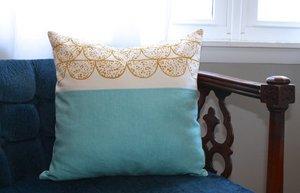 mustard-pillow