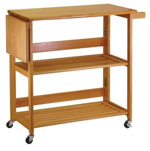 winsome-wood-foldable-kitchen-cart-with-knife-block