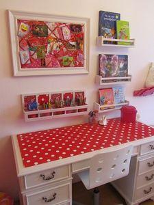 red-polka-dot-desk