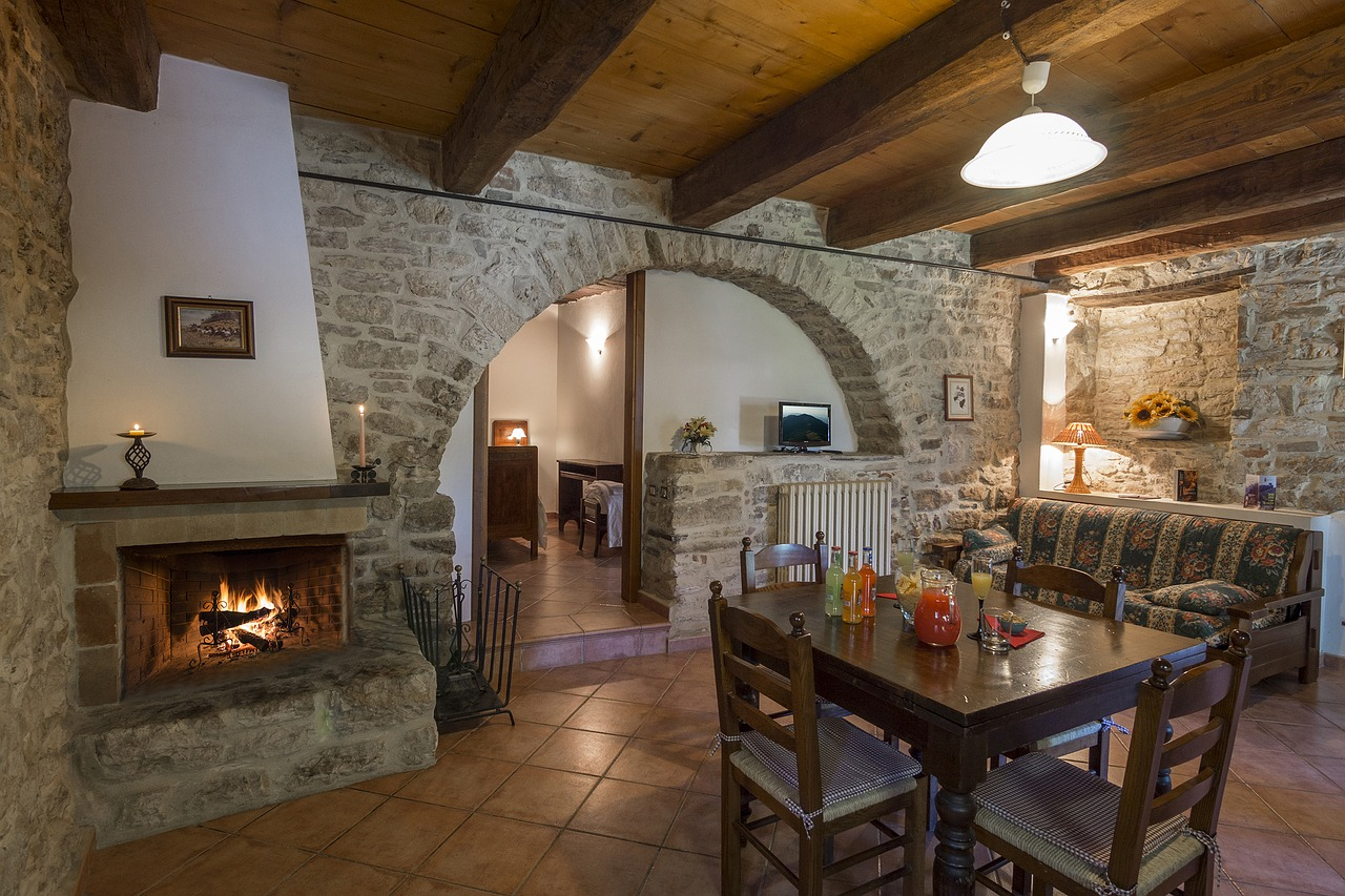 fireplace-and-stone