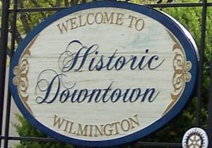 Historic District - Downtown Wilmington Sign