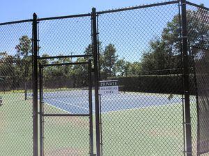 The Village at Motts Landing Tennis Courts