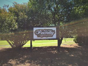 Pine Valley Estates Country Club Sign