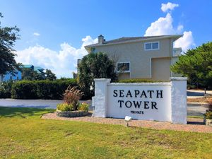 Seapath Towers Entrance Sign 1