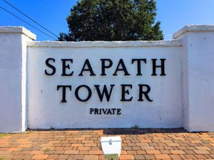 Seapath Towers - Entrance Sign