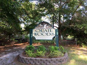 Quail Woods - Entrance Sign