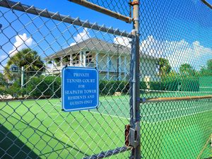 Seapath Towers Tennis Courts 2