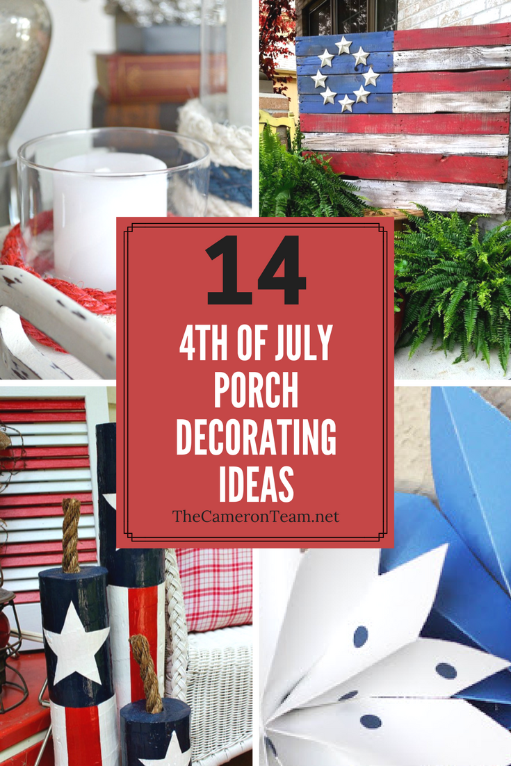 14 4th of July Porch Decorating Ideas