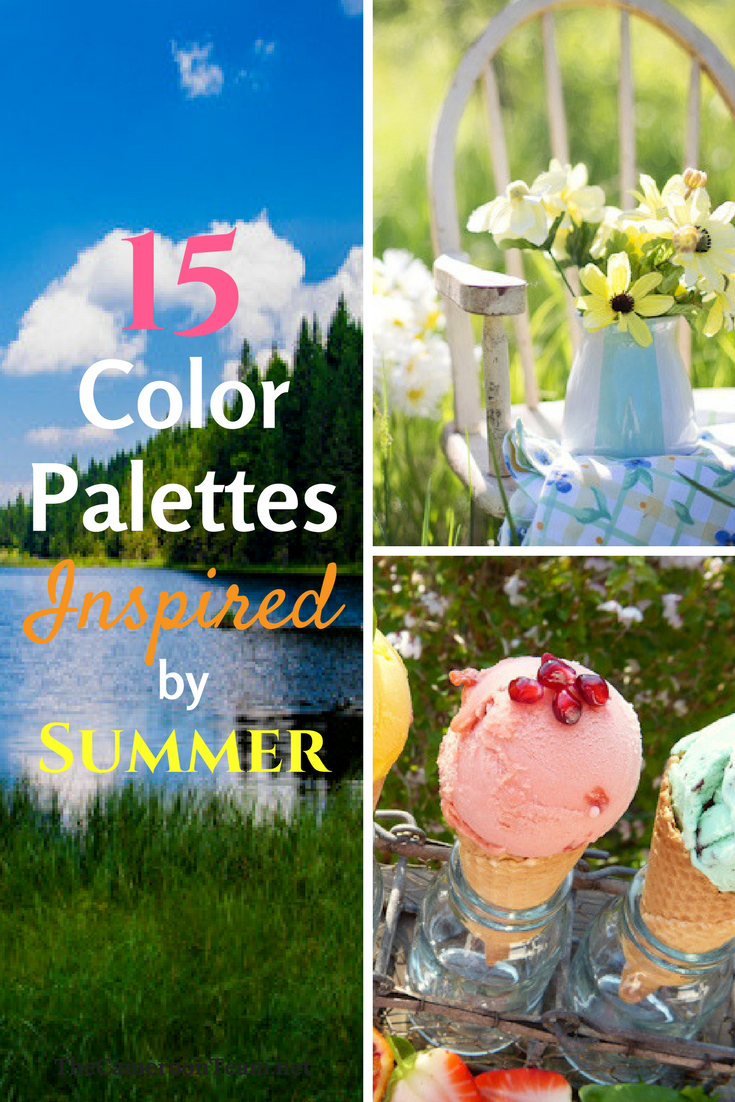 15 Color Palettes Inspired by Summer