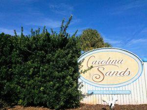 Carolina Sands - Entrance Sign