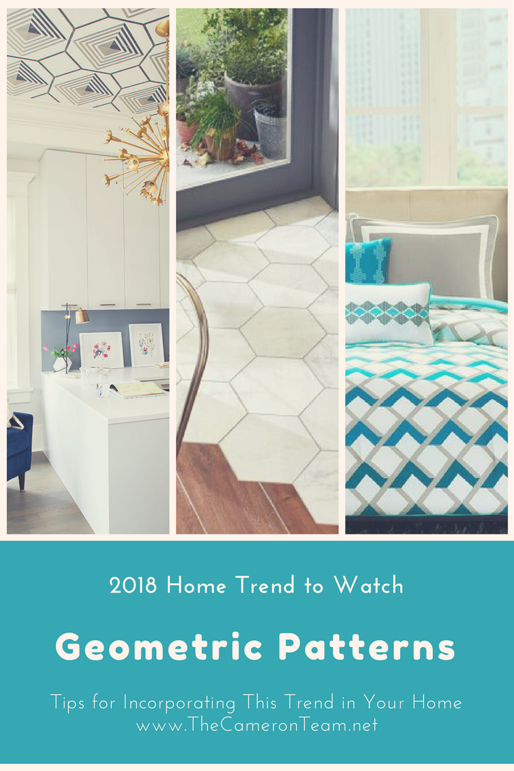 2018 Home Trend to Watch: Geometric Patterns