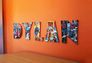 Comic Book Letters Typography - Craftcuts