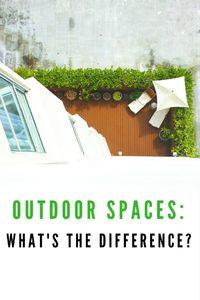 Outdoor Spaces Blog