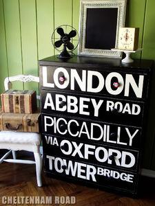 Typography Dresser - Cheltenham Road