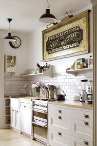 Vintage Apothecary Sign - My Warehouse Home