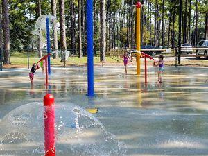Hugh MacRae Park - Splashpad