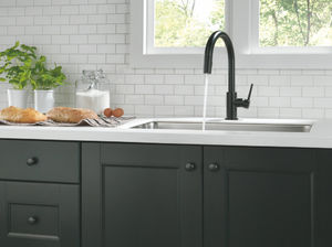 Delta Faucet 9159-BL-DST Trinsic Single Handle Pull-Down Kitchen Faucet