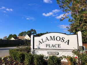 Alamosa Place - Entrance Sign