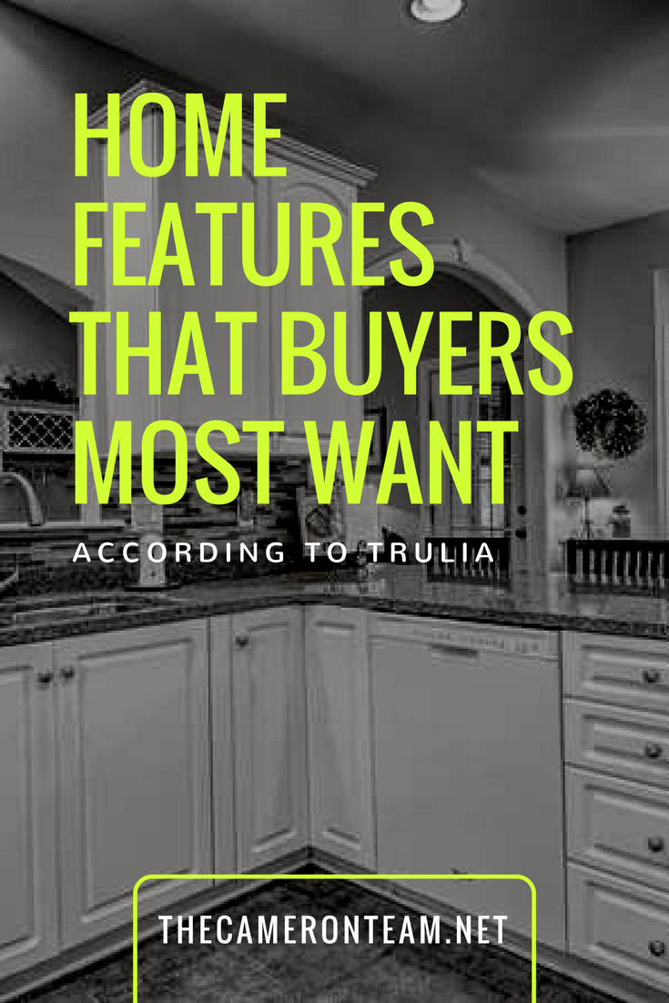 Home Features That Buyers Most Want