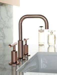 Kohler K-14406-4-RGD Purist Two Handle Widespread Bathroom Faucet 1.2 GPM