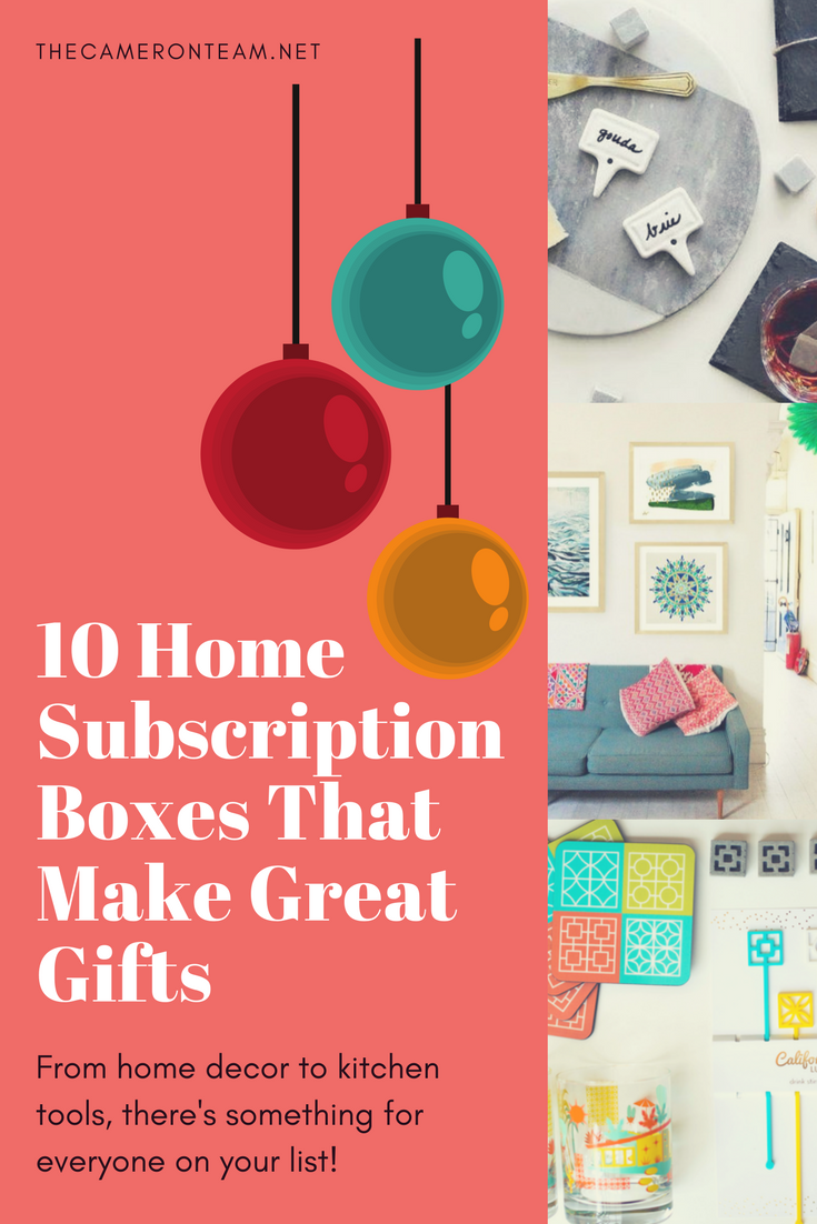 10 Home Subscription Boxes That Make Great Gifts