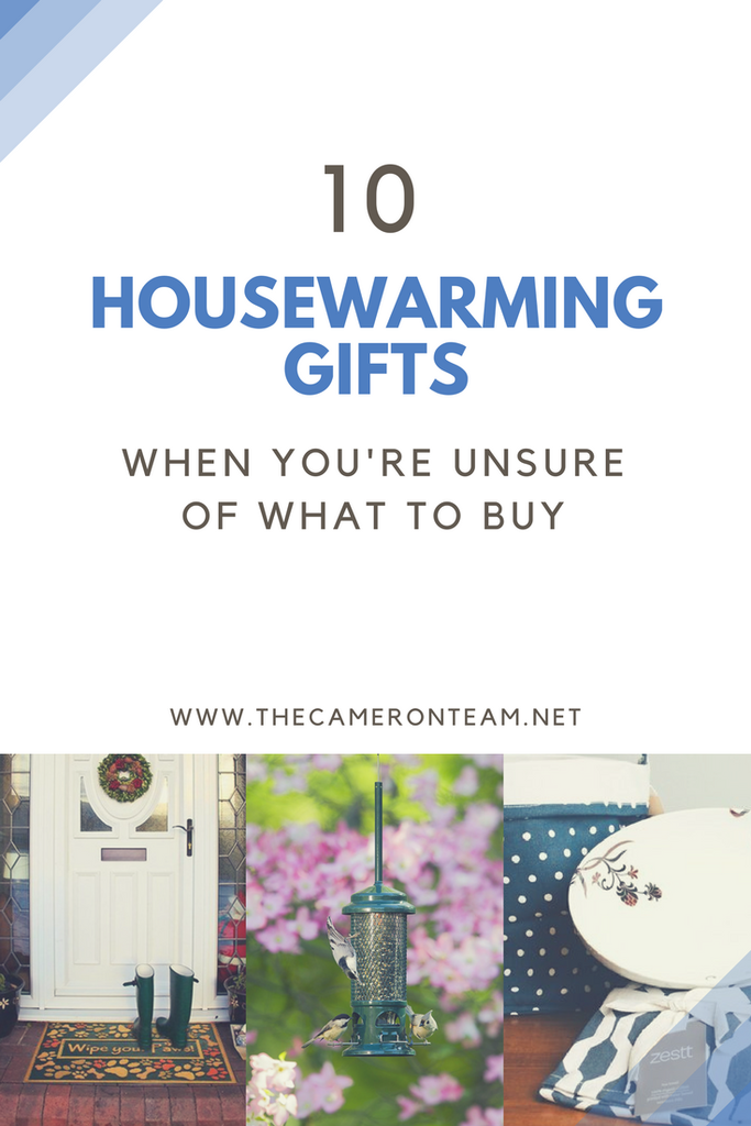 10 Housewarming Gifts When You're Unsure of What to Buy