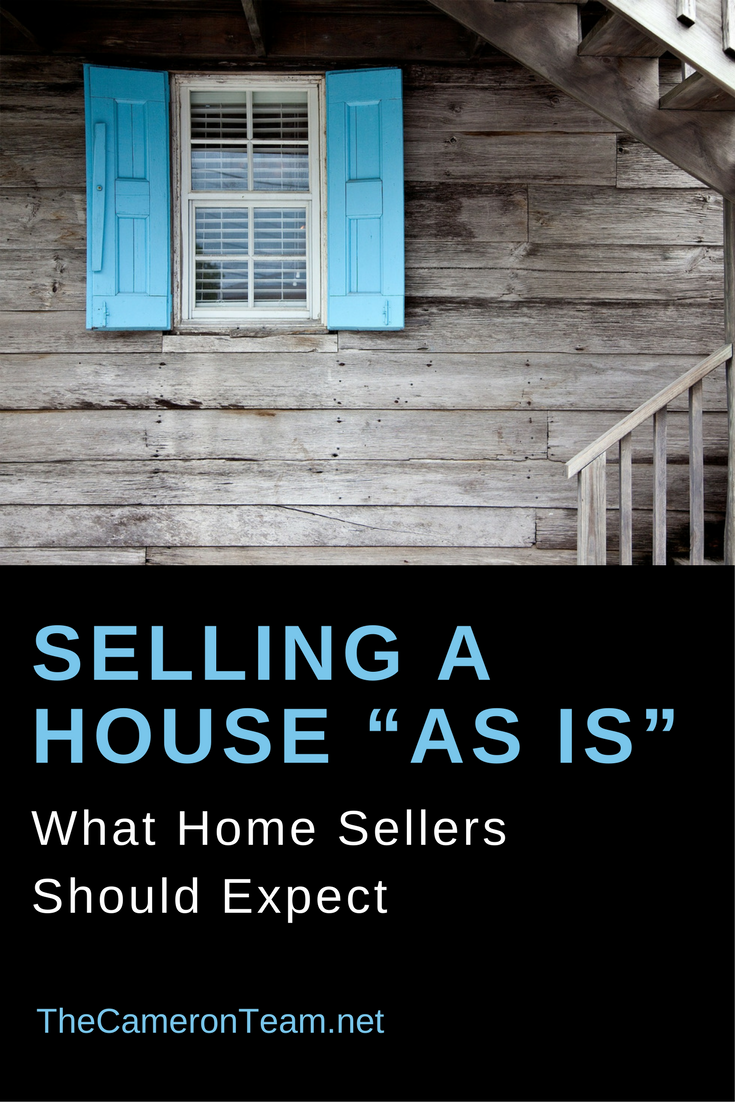 """Selling a House """"As Is"""": What Home Sellers Should Expect"""