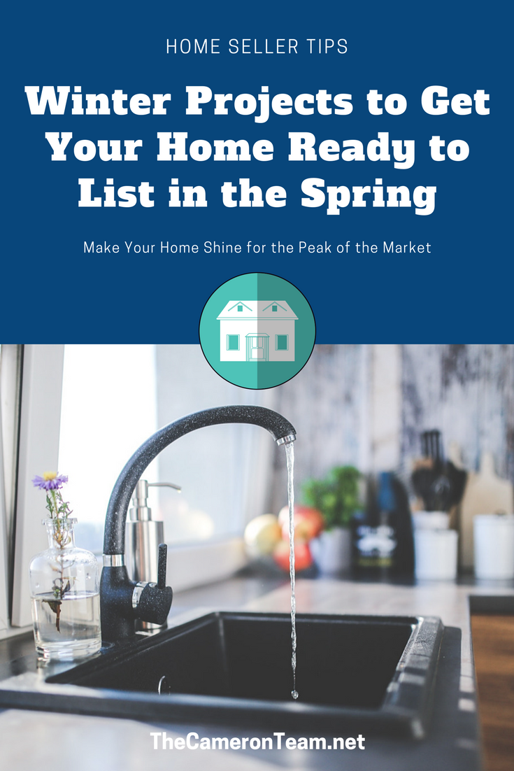 Winter Projects to Get Your Home Ready to List in the Spring