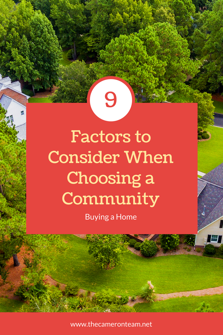 9 Factors to Consider When Choosing a Community