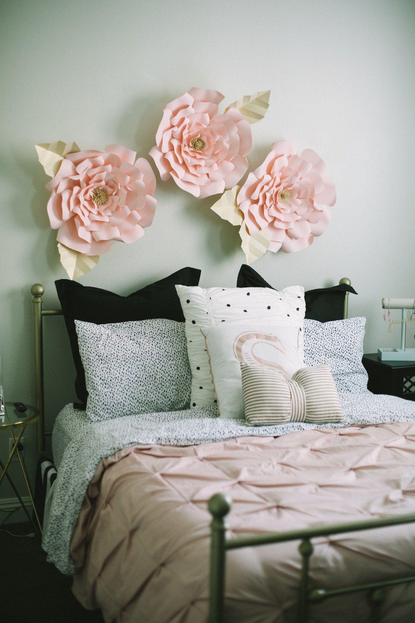 Blush Tween Bedroom - Million Ways to Mother