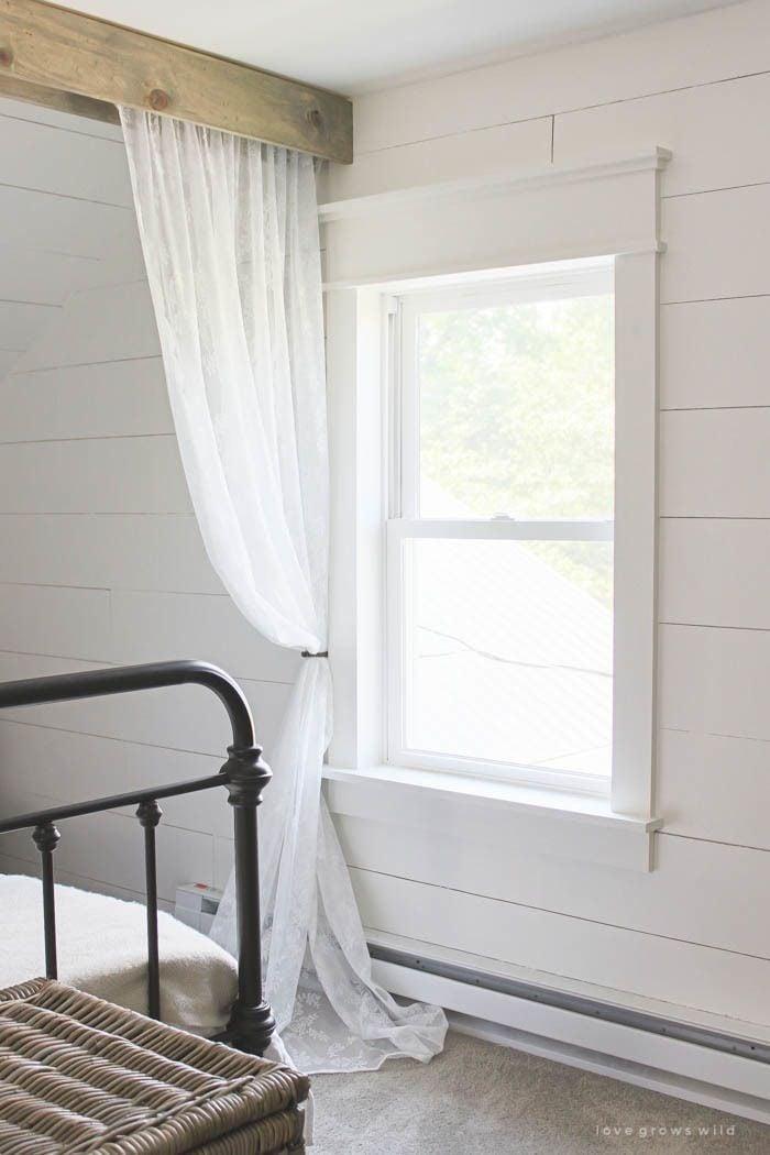 Farmhouse Window Trim - Love Grows Wild