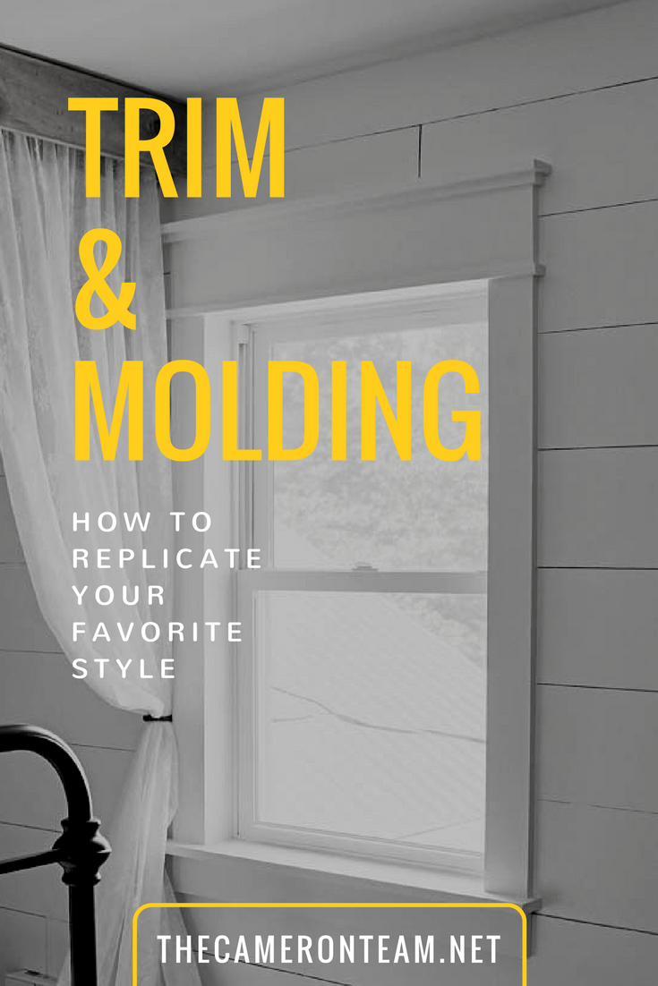 Trim and Molding - How to Replicate Your Favorite Style