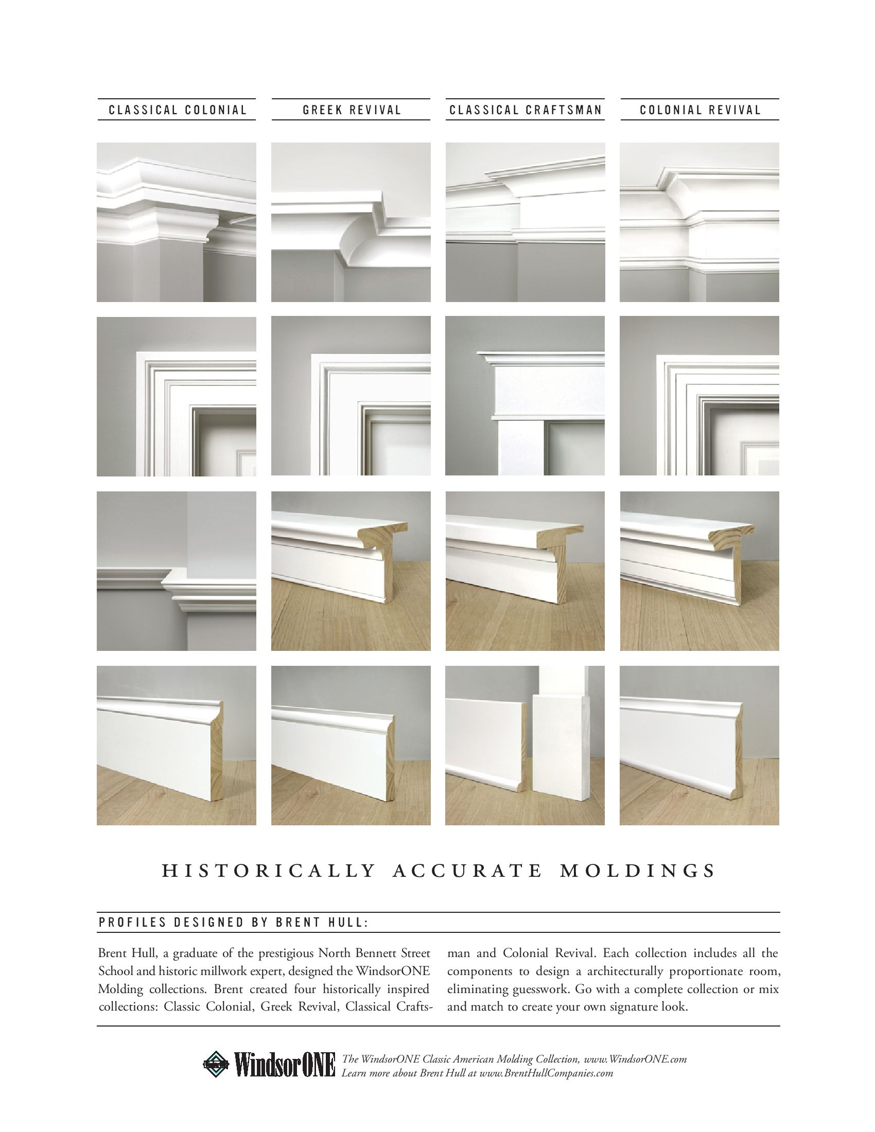 WindsorONE - Historically Accurate Molding
