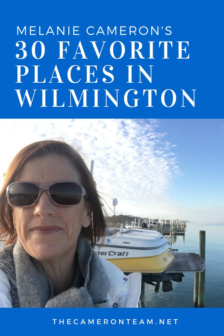 Melanie Cameron's 30 Favorite Places in Wilmington
