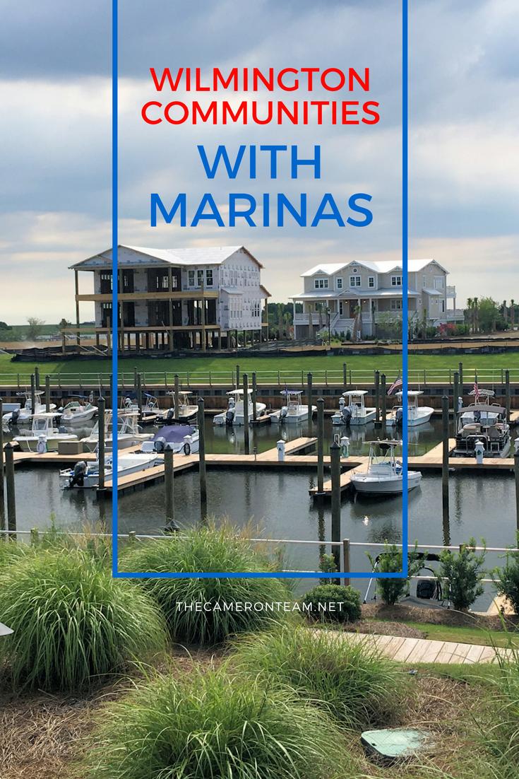 Wilmington Communities with Marinas